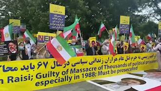 فراخوان به محاکمه ابراهیم رئیسی به جرم اعدام هزاران زندانی سیاسی در ایران