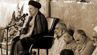 رئیسی جلاد و سرکردگان سپاه - عکس از آرشیو