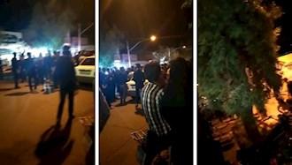 اعتراض مردم راور کرمان