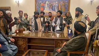 نیروهای طالبان در ارگ ریاست جمهوری افغانستان