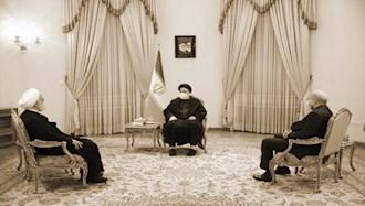 جلسه سران قوای رژیم