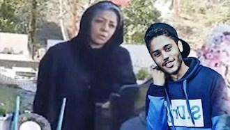 مادر شهید قیام آبان ۹۸ پژمان قلی پور