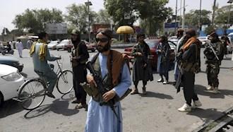 نیروهای طالبان در  کابل