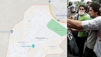 گوشمالی یک مزودور رژیم در مهر شهر کرج