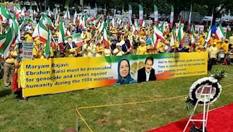 تظاهرات ایرانیان آزاده در مقابل مجلس نمایندگان و سنای آمریکا