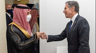 وزیران خارجه آمریکا  و عربستان سعودی
