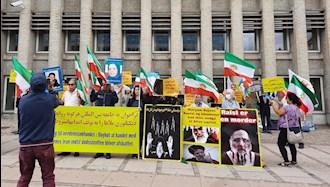 کپنهاگ دانمارک  - تظاهرات هموطنان آزاده برای محاکمه آخوند ابراهیم رئيسی