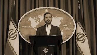 سخنگوی وزارتخارجهٔ رژیم