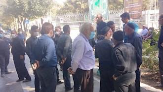 اصفهان تجمع  اعتراضی کشاورزان