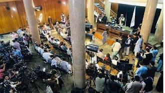 مصاحبه مطبوعاتی سخنگوی طالبان