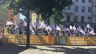 تجمع هواداران مجاهدین و بستگان شهیدان سربهدار - استکهلم  - ۲۹ مرداد ۱۴۰۰