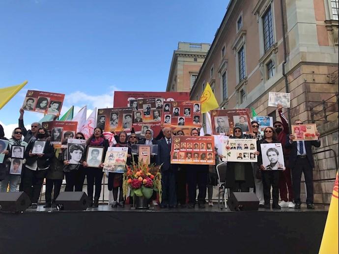 تظاهرات ایرانیان آزاده در سوئد بهمناسبت سی و سومین سال قتلعام زندانیان سیاسی در ایران - اول شهریور ۱۴۰۰ - 4