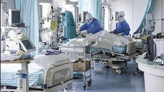 افزایش بستری بیماران کرونایی