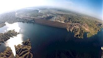 غارت منابع آبی کشور