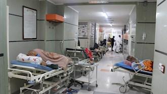 صف بیماران  در مرودشت - عکس از آرشیو