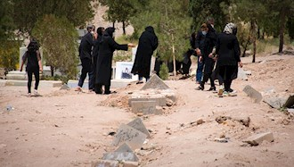 دفن جانباختگان کرونایی در تهران
