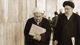 آخوند جلاد رئیسی و آخوند صادق لاریجانی