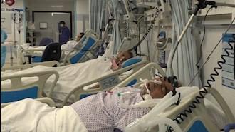شیوع گسترده کرونا و پر شدن تختهای بیمارستانها
