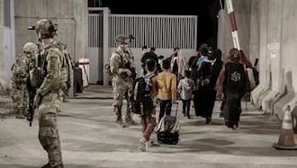 خارج کردن شهروندان افغانی و نیروهای آمریکایی از کابل