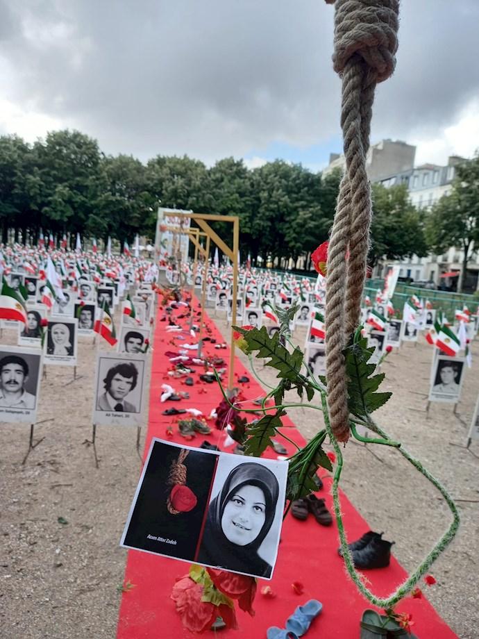 تظاهرات و آکسیون اعتراضی هموطنان آزاده در پاریس - 0