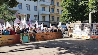هموطنان آزاده در برابر دادگاه دژخیم حمید نوری