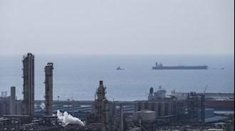نمایی از تاسیسات گازی ایران