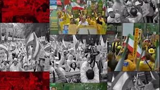 تظاهرات جوامع ایرانی