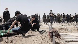 آرامستان کرونایی در مشهد - عکس از آرشیو