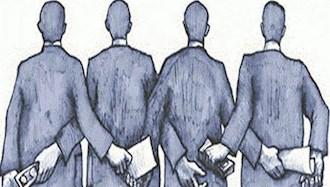 فساد آخوند ها