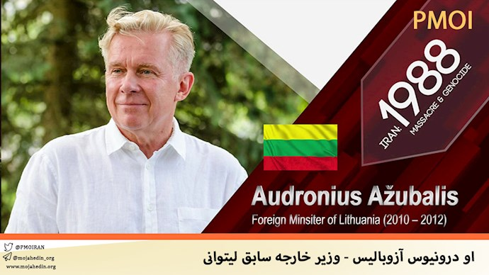 او درونیوس آزوبالیس - وزیر خارجه سابق لیتوانی
