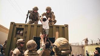 تلاش برای خروج از افغانستان