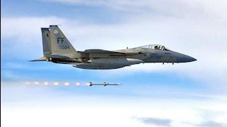 حملات جنگنده های اف ۱۵