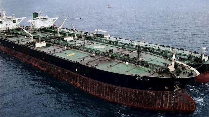 کشتی نفتکش رژیم - آرشیو