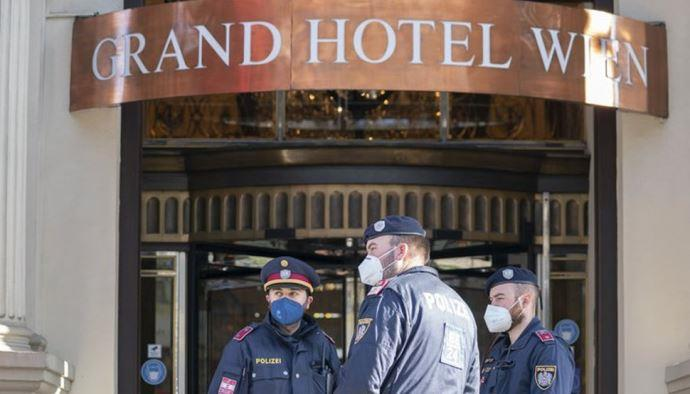 وین - گرند هتل - محل مذاکرات قدرتهای جهانی بر سر برجام
