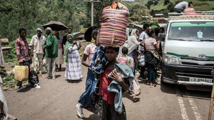 جنگ در اتیوپی