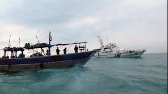 توقیف محموله هروئین در  قایق ۷ ایرانی  در آبهای هندوستان
