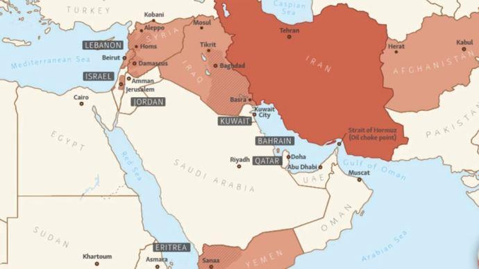 دخالتهای آخوندها در کشورهای همسایه