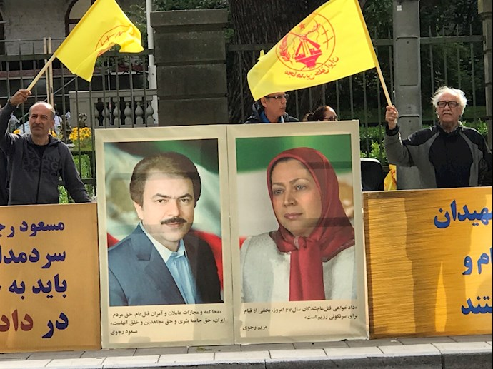 -تظاهرات ایرانیان آزاده و هواداران مجاهدین در استکهلم - 1