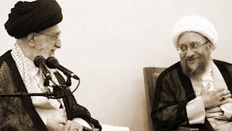 آملی لاریجانی و خامنهای ولی فقیه ارتجاع