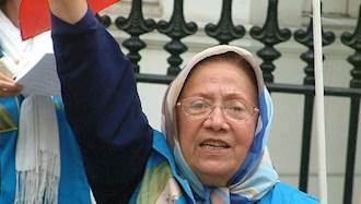 درگذشت مادر مجاهد فاطمه فداییان (مادر محمد)