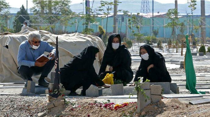 فوتیهای کرونا در ایران