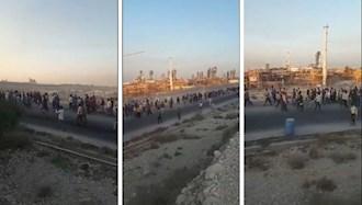 اعتصاب کارگران پروژهای شاغل در فاز ۱۴ پارس جنوبی