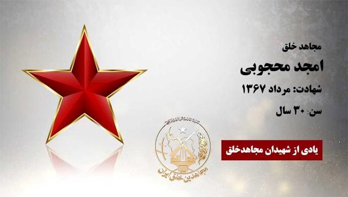 مجاهد شهید امجد محجوبی