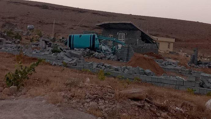 تخریب خانههای مردم در شیراز