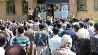 تجمع سراسری معلمان علیه سیاستهای رژیم آخوندی