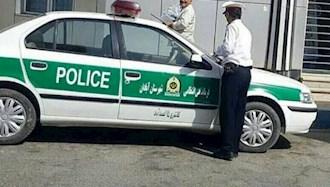 نیروی انتظامی رژیم در آبادان