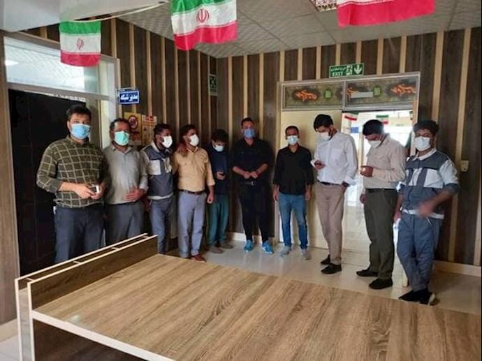 -تجمع کادر درمانی شرکت شهرستان باشت -یاسوج