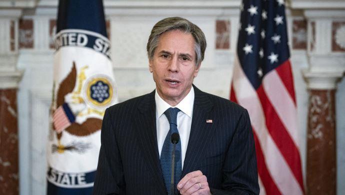 بلینکن وزیر خارجه آمریکا