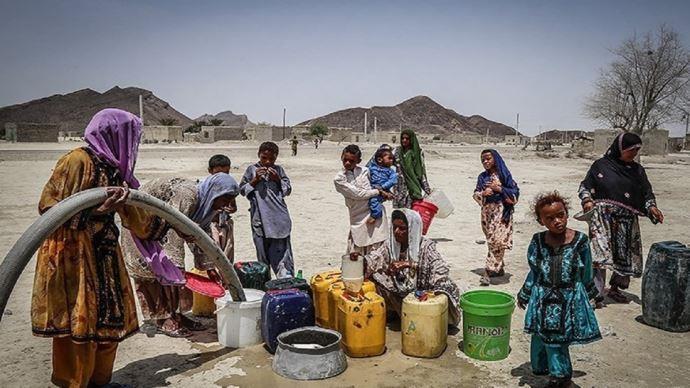 خشکسالی و مشکل آب آشامیدنی در روستاها