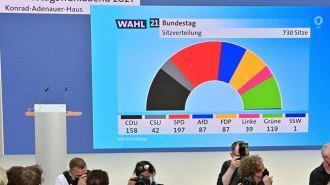 سوسیال دمکراتها پیروز انتخابات آلمان